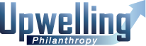 Upwelling philanthropy logo for mobile devices